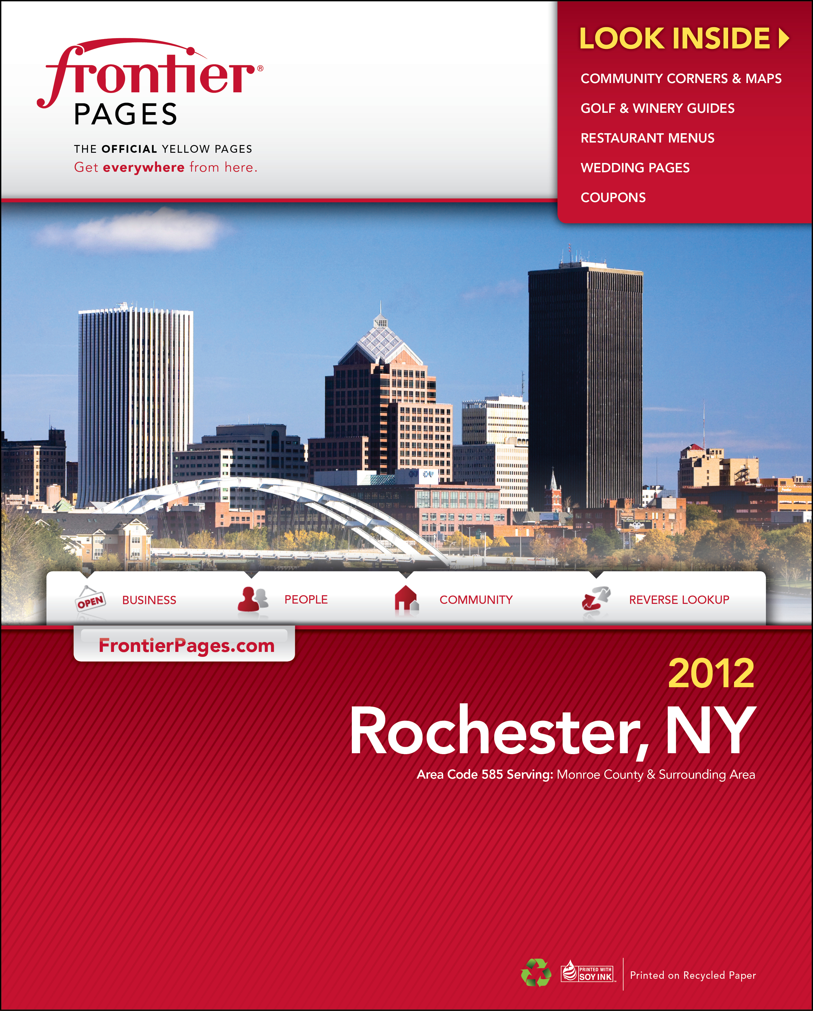 Help frontier design the new directory cover vote for for Architect directory